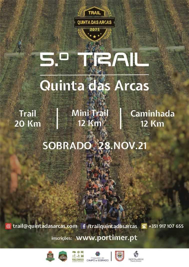 trail quinta das arcas 2021
